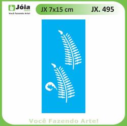 Stencil JX 495