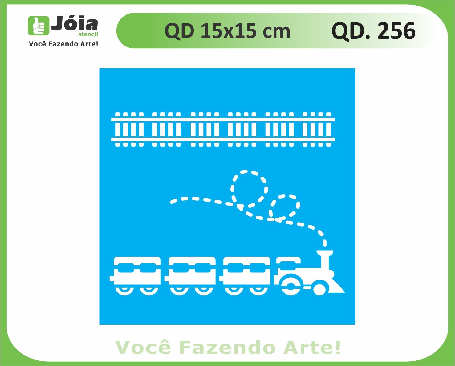 stencil QD 256