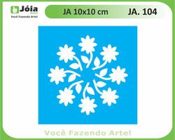 stencil JA 104