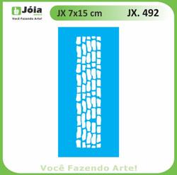 Stencil JX 492