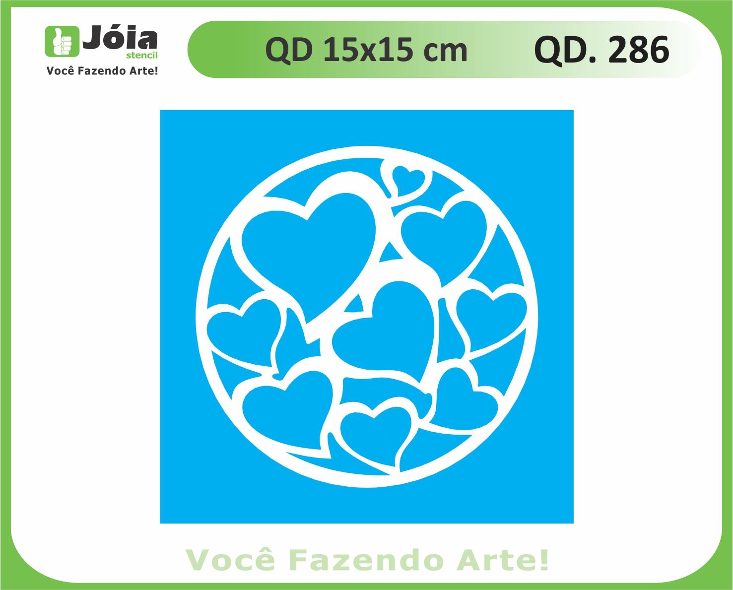 stencil QD 286