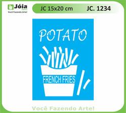 stencil JC 1234