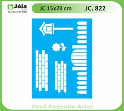 stencil JC 822