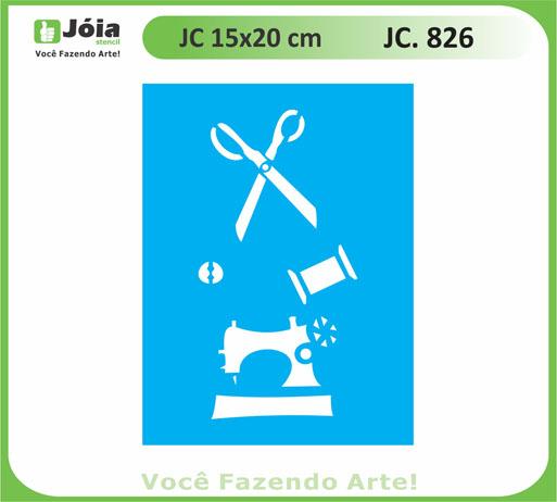 stencil JC 826