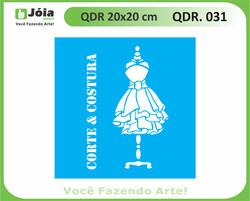 stencil QDR 031