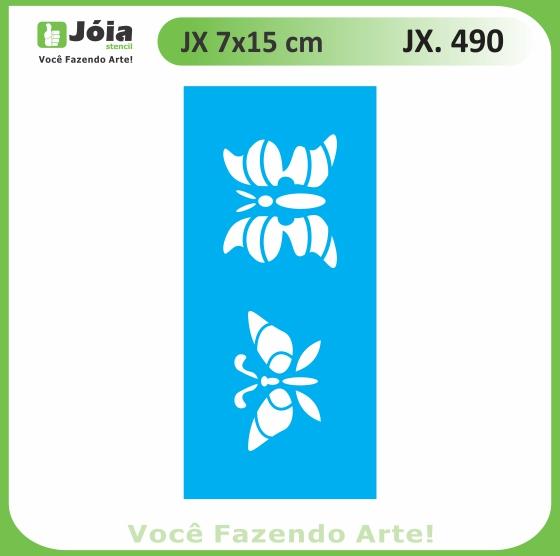 Stencil JX 490