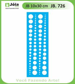 Stencil JB 726