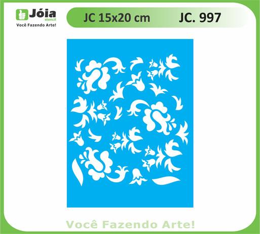 stencil JC 997