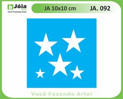 stencil JA 092
