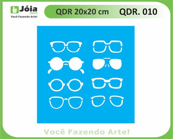 stencil QDR 010