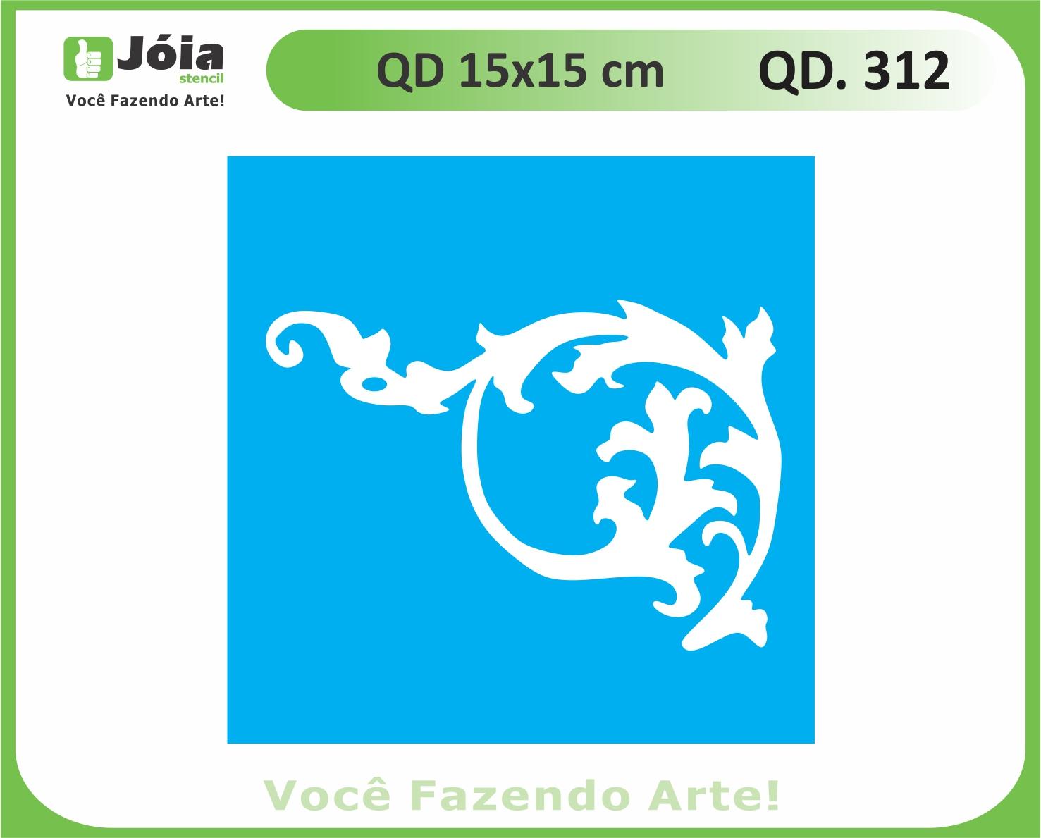 stencil QD 312