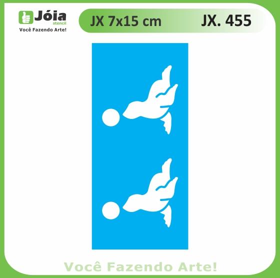 Stencil JX 455