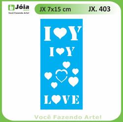 Stencil JX 403