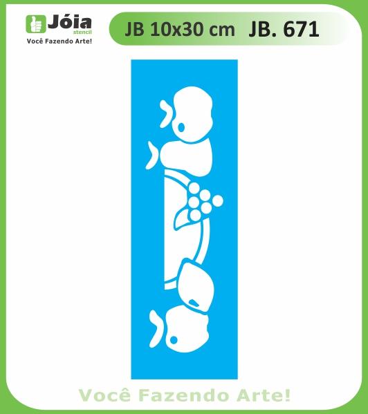 Stencil JB 671