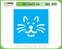 stencil QD 229