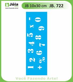 Stencil JB 722
