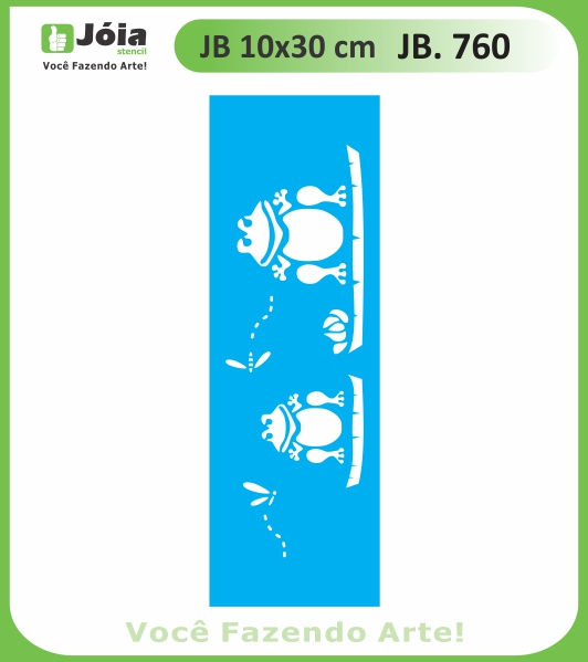 Stencil JB 760