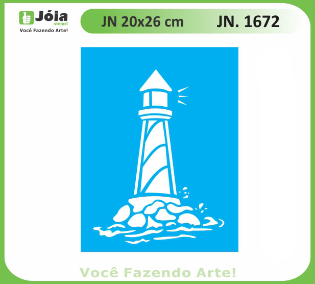 Stencil JN 1672