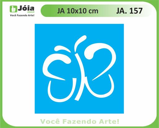 stencil JA 157