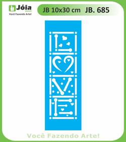 Stencil JB 685