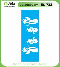 Stencil JB 733