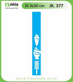 Stencil JK 377