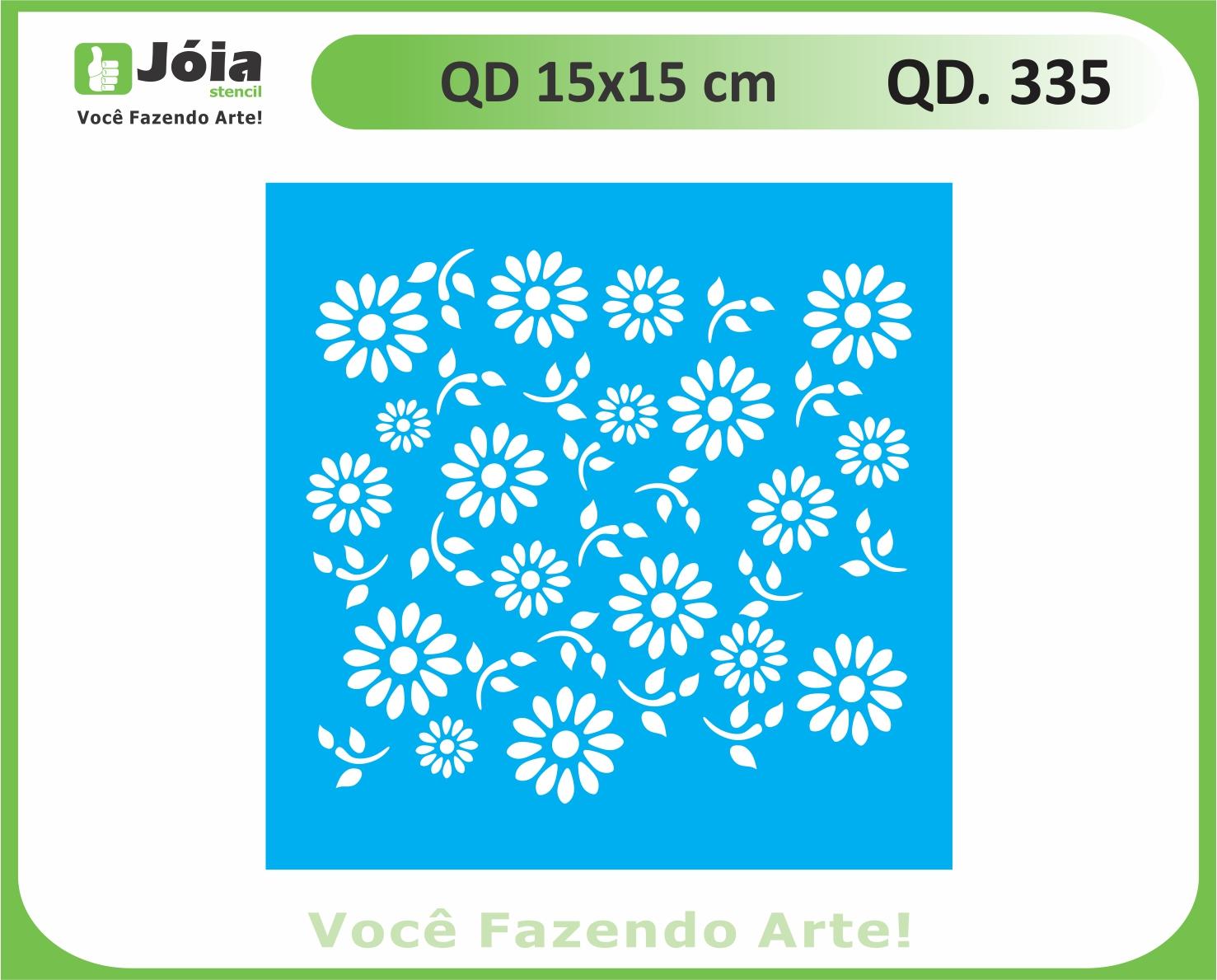 stencil QD 335