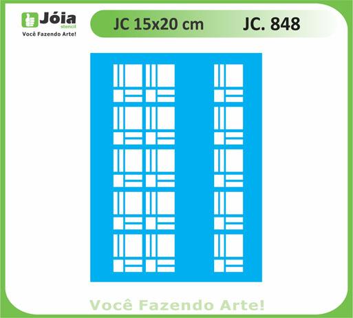 stencil JC 848
