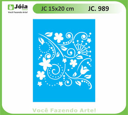 stencil JC 989