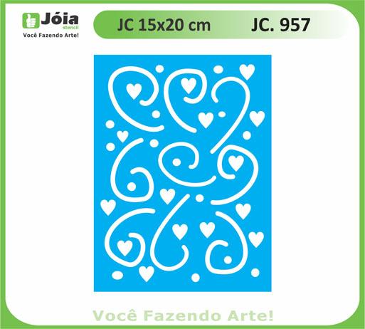 stencil JC 957