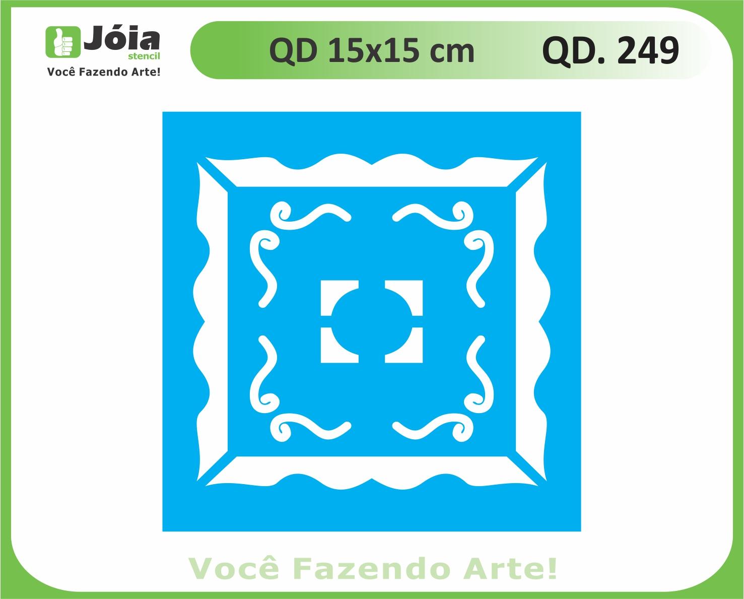 stencil QD 249