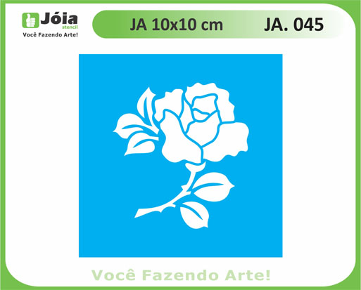 stencil JA 045