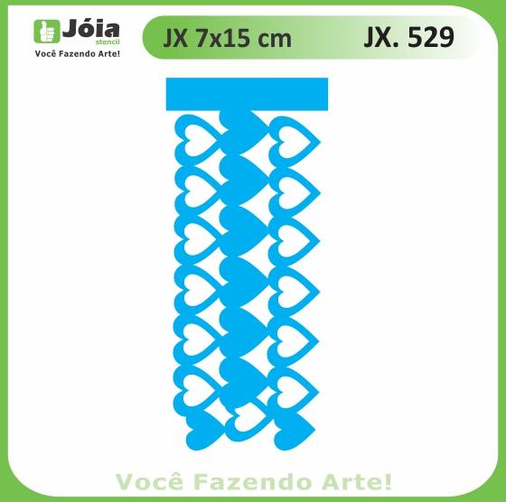 Stencil JX 529