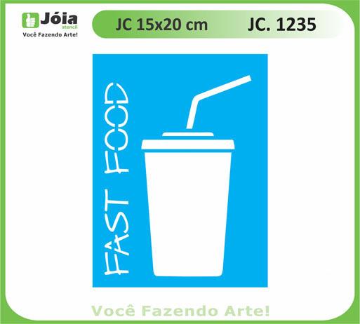 stencil JC 1235