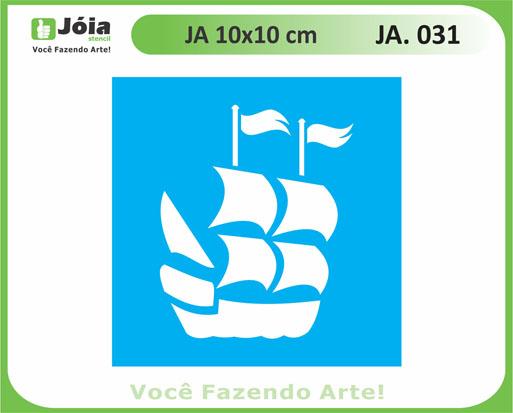 stencil JA 031