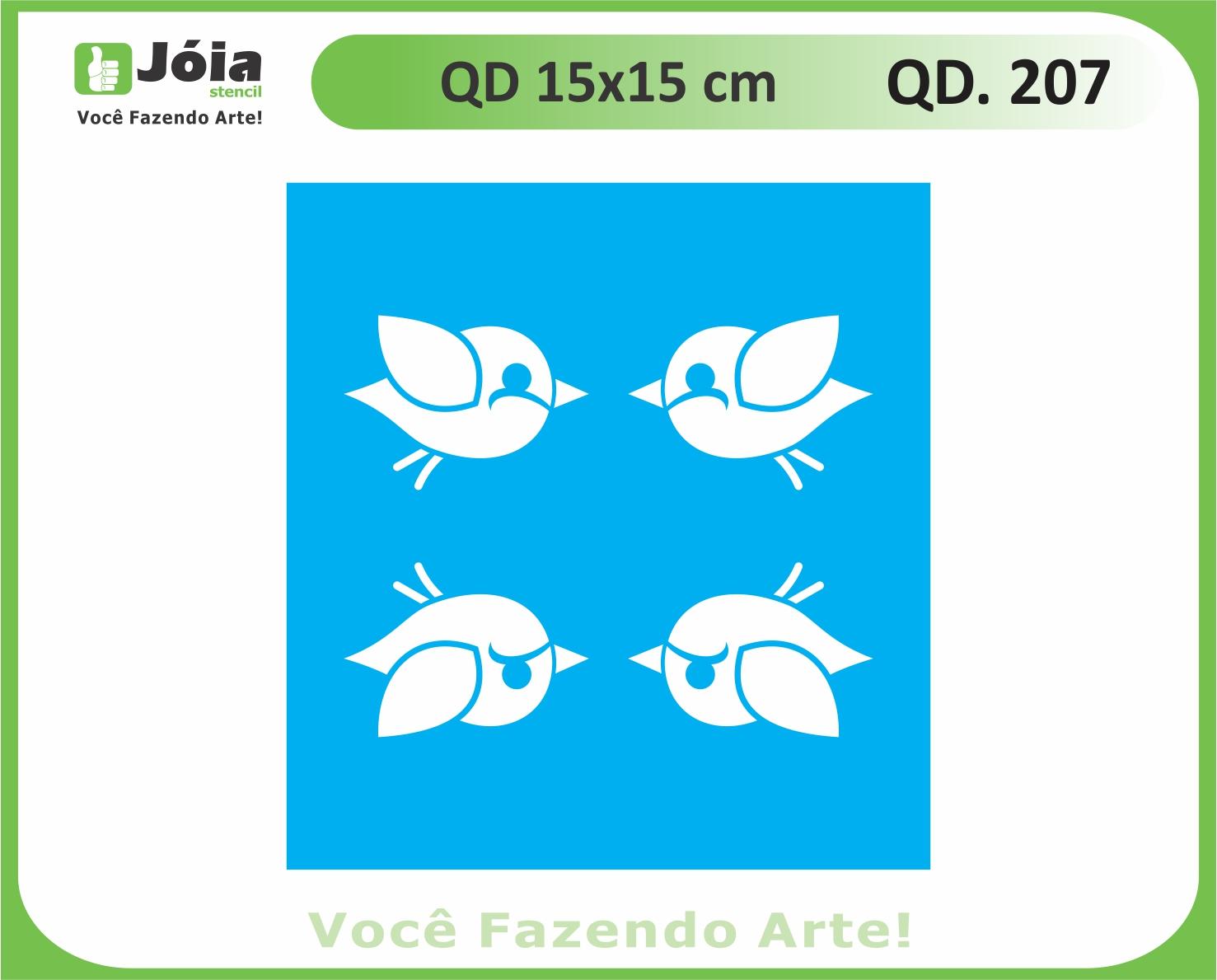stencil QD 207