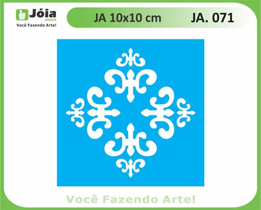 stencil JA 071
