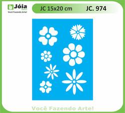 stencil JC 974