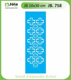 Stencil JB 758
