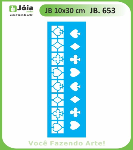 Stencil JB 653