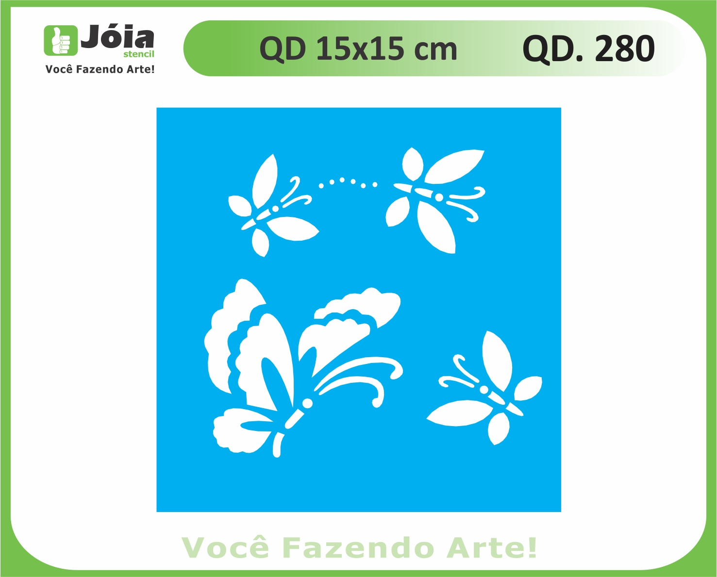 stencil QD 280