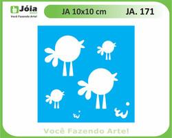 stencil JA 171