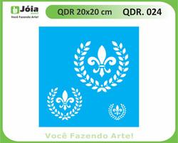 stencil QDR 024
