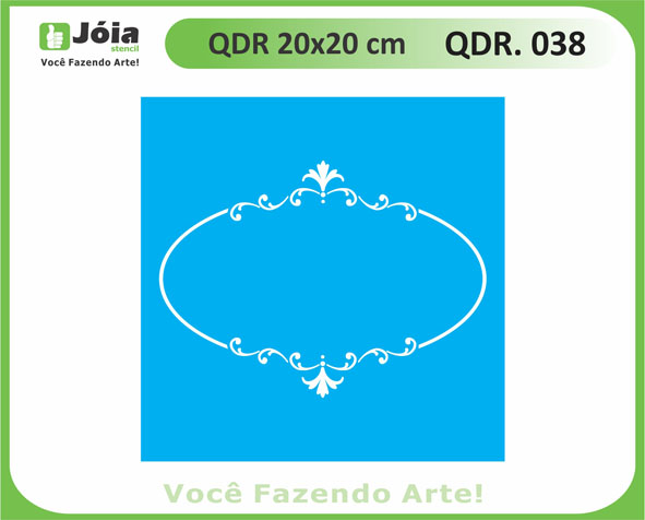 stencil QDR 038
