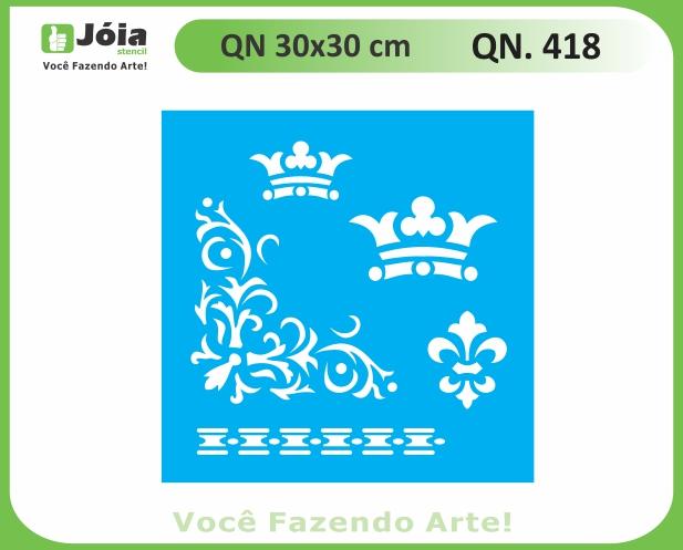 Stencil QN 418