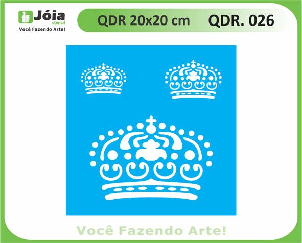 stencil QDR 026