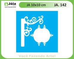 stencil JA 142