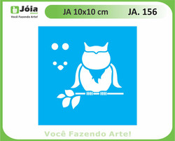stencil JA 156