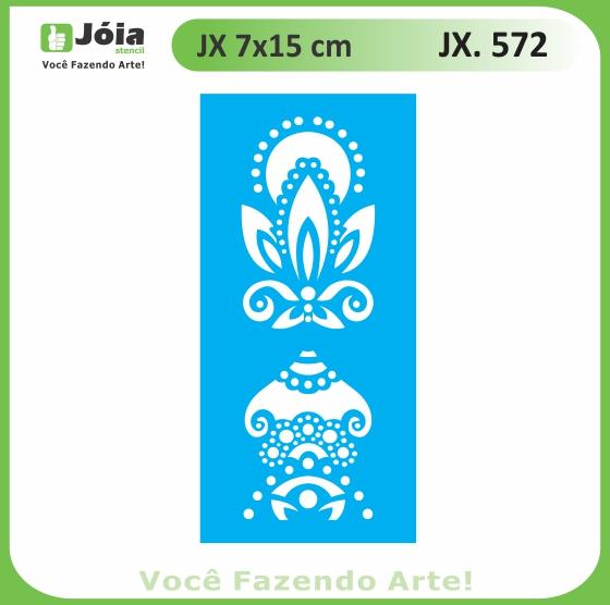 Stencil JX 572