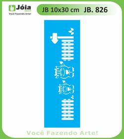 Stencil JB 826